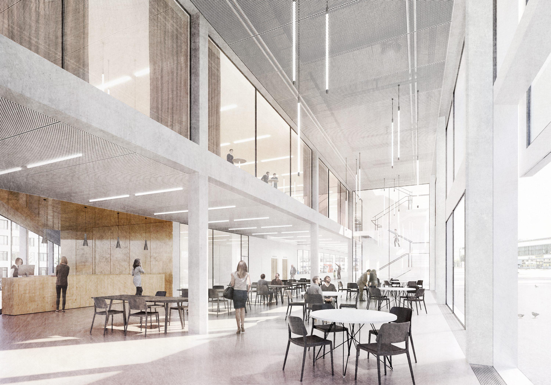 Parc suisse dinnovation bienne 3Ème prix nyx architectes